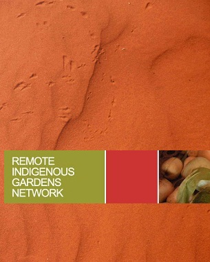 The desert hub featured in the Remote Indigenous Gardens Network.